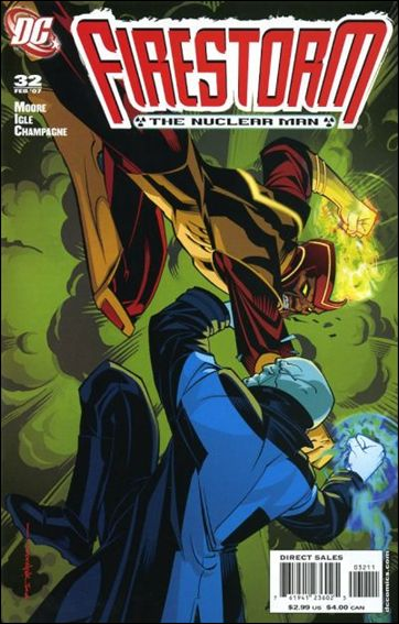 Firestorm: The Nuclear Man (2006) 32-A by DC