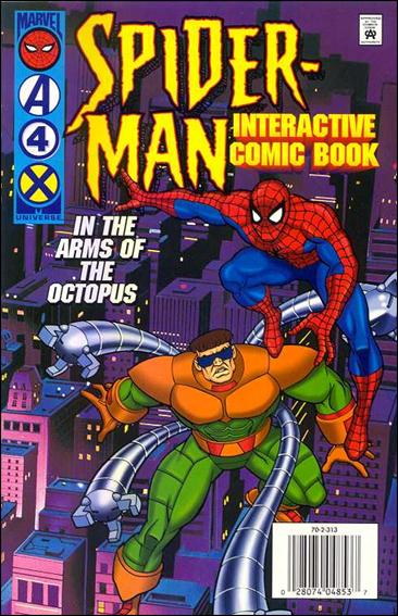 Spider-Man Interactive Comic Book 1-A by Marvel