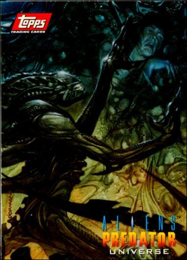 Aliens/Predator Universe (Promo) nn-A by Topps
