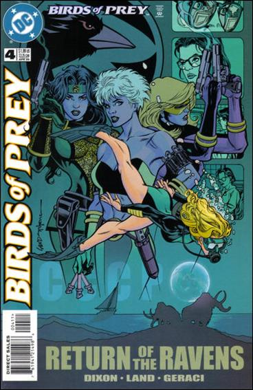 Birds of Prey (1999) 4-A by DC