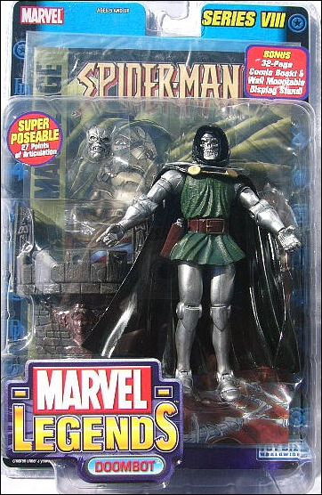 Marvel Legends (Series 8) Doombot - Series 8 Re-Pack by Toy Biz