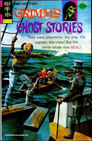 Grimm's Ghost Stories 24-A by Gold Key