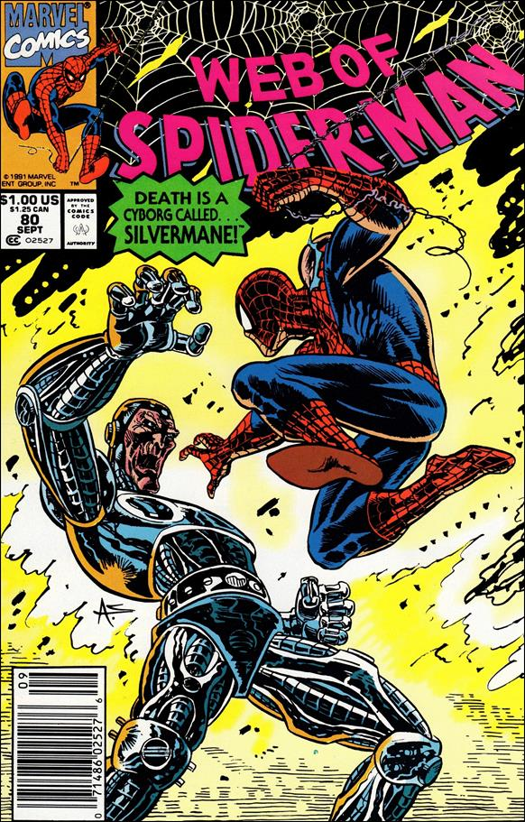 Web of Spider-Man (1985) 80-A by Marvel