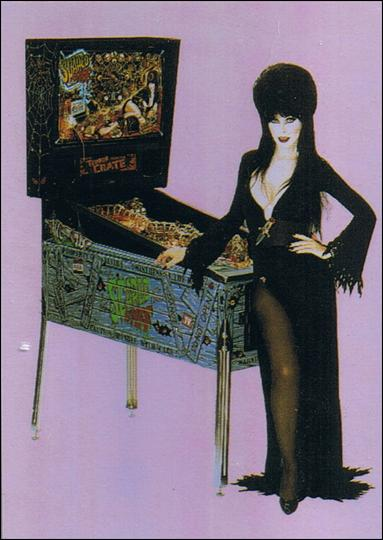 Elvira, Mistress of Omnichrome (Base Set) 3-A by Comic Images