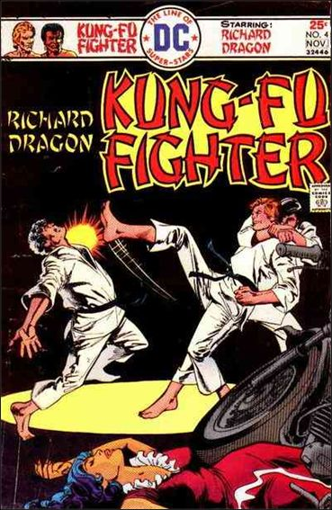 Richard Dragon, Kung-Fu Fighter 4-A by DC
