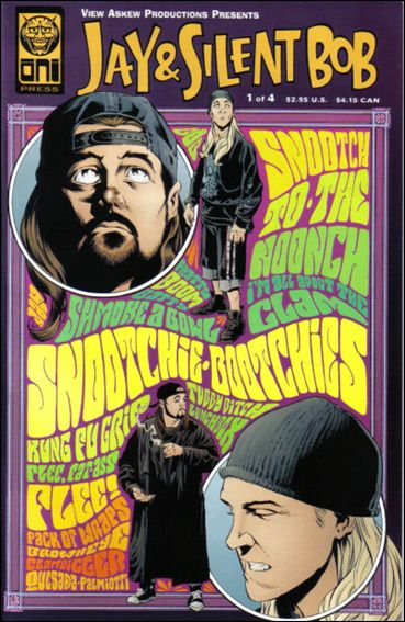 Jay & Silent Bob 1-A by Oni Press