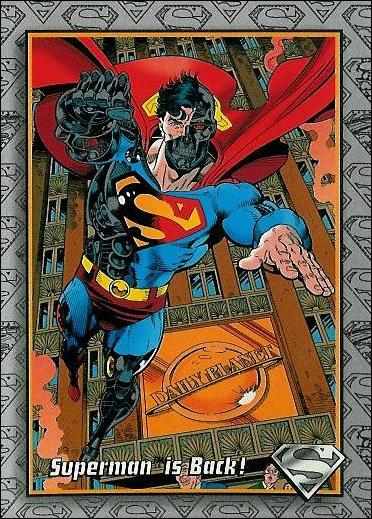 Return of Superman (Base Set) 9-A by SkyBox