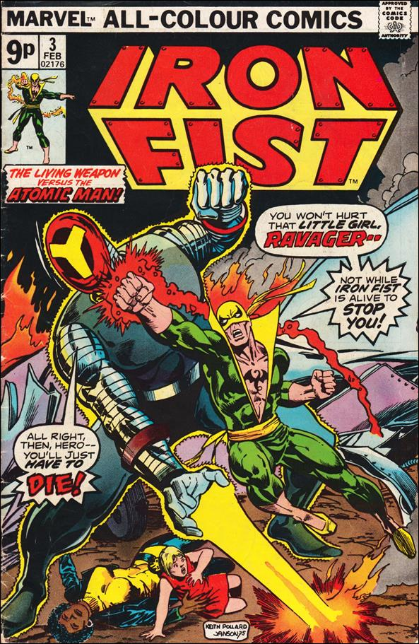 Iron Fist (1975) 3-B by Marvel