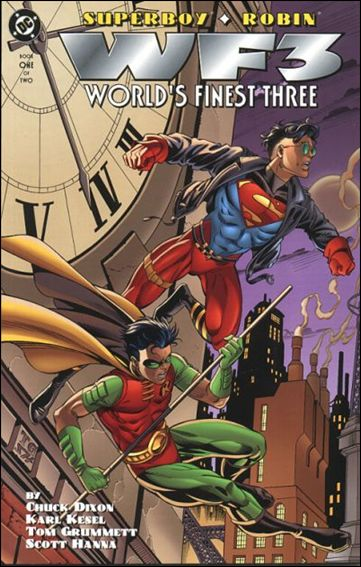 Superboy/Robin: World's Finest Three 1-A by DC