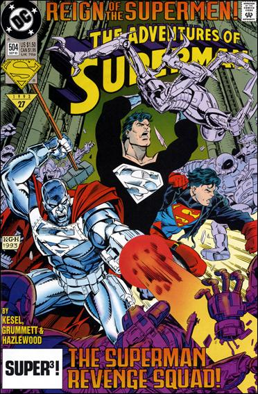 Adventures of Superman (1987) 504-A by DC