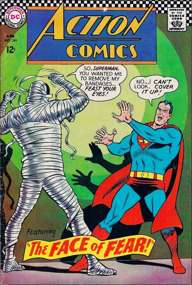 Action Comics (1938) 349-A by DC