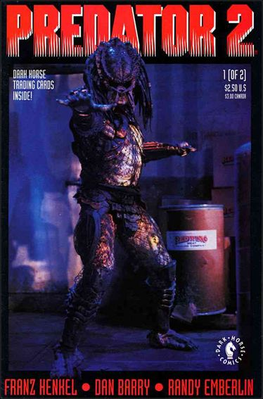 Predator 2 1-A by Dark Horse