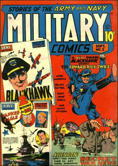 Military Comics 2-A by Comic Magazines