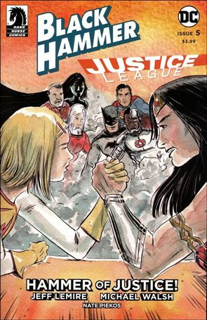 Black Hammer/Justice League: Hammer of Justice! 5-B