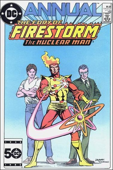 Fury of Firestorm Annual 3-A by DC