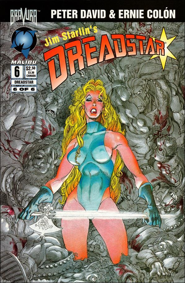 Dreadstar (1994) 6-A by Malibu