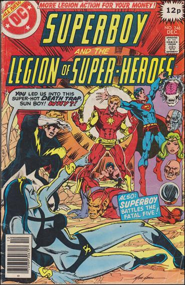 Superboy and the Legion of Super-Heroes 246-C by DC
