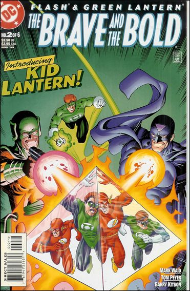 Flash/Green Lantern: The Brave and the Bold 2-A by DC