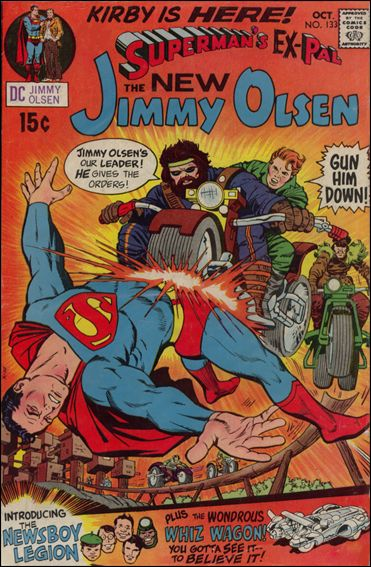 Superman's Pal Jimmy Olsen 133-A by DC