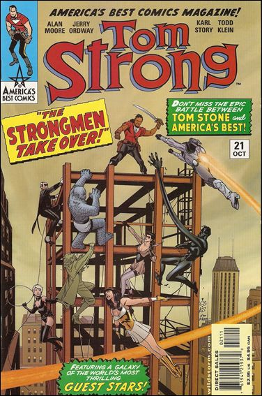 Tom Strong 21-A by America's Best Comics