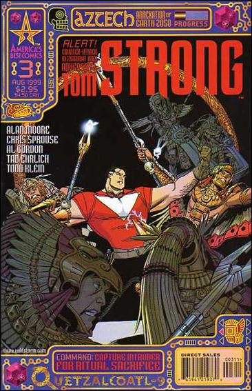 Tom Strong 3-A by America's Best Comics