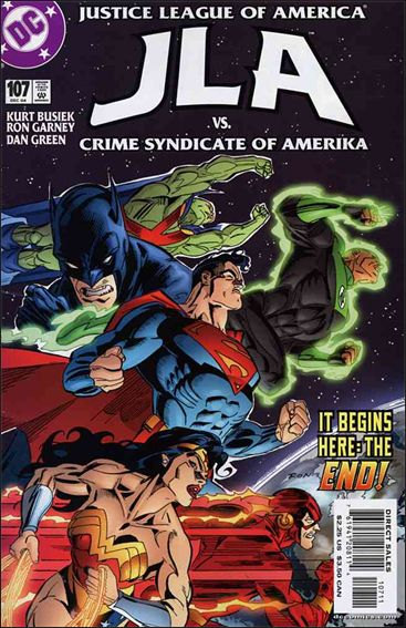 JLA 107-A by DC