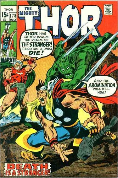 Thor (1966) 178-A by Marvel