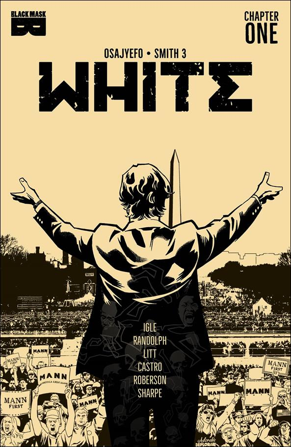 White (2021) 1-D by Black Mask Studios