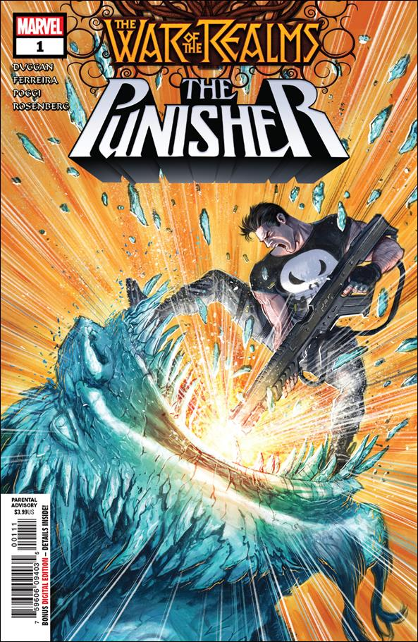 War of the Realms: The Punisher 1-A by Marvel