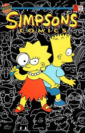 Simpsons Comics 3-A