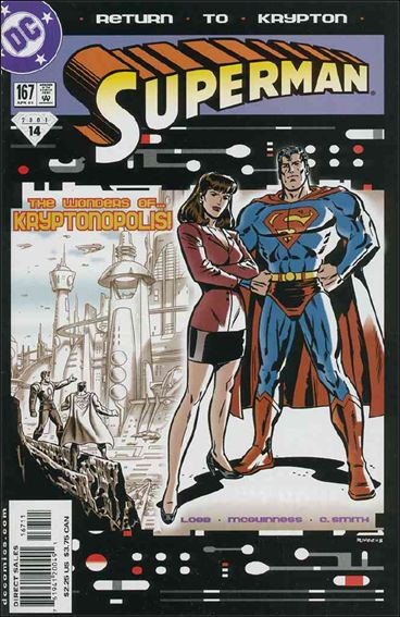 Superman (1987) 167-A by DC