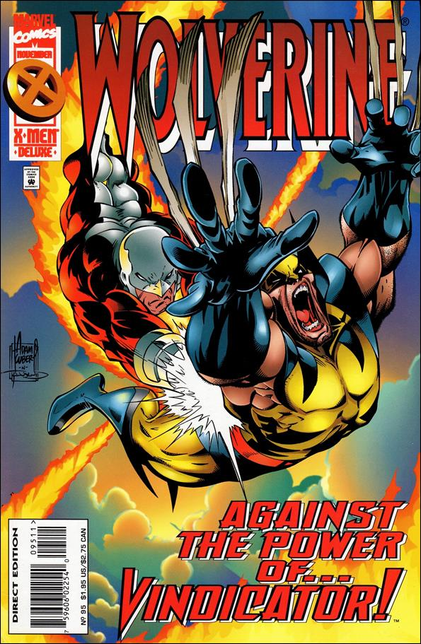 Wolverine (1988)  95-A by Marvel