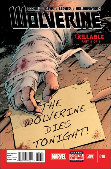 Wolverine (2013) 10-A by Marvel