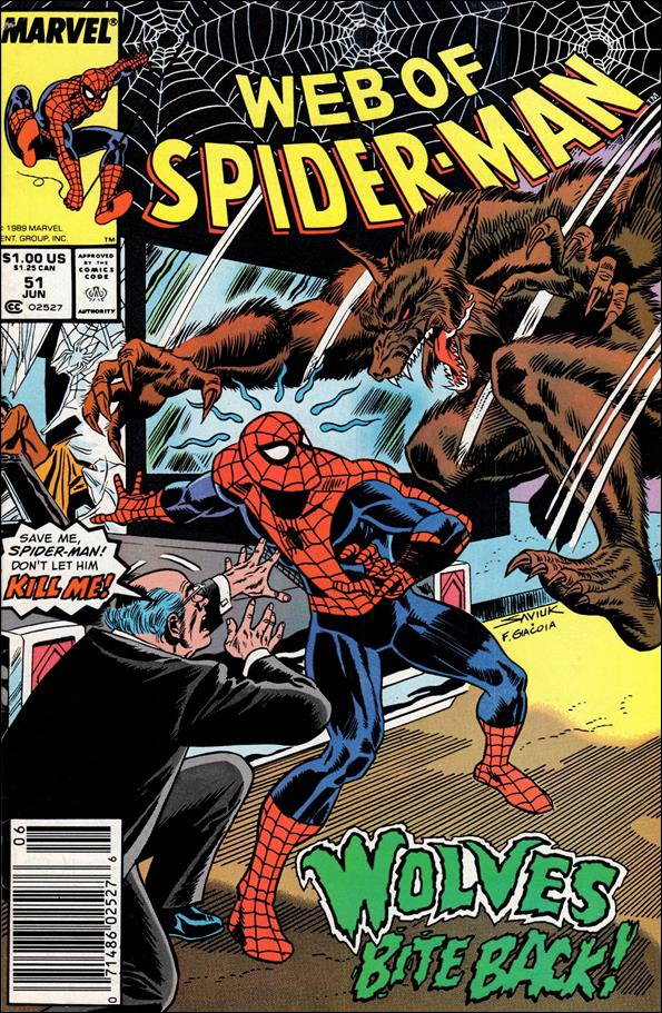 Web of Spider-Man (1985) 51-A by Marvel