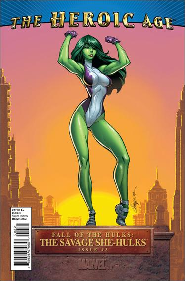 Fall of the Hulks: The Savage She-Hulks 3-B by Marvel