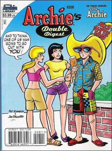 Archie's Double Digest Magazine 208-A by Archie