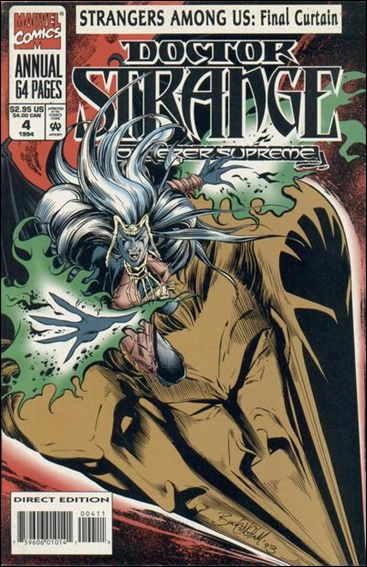 Doctor Strange, Sorcerer Supreme Annual 4-A by Marvel