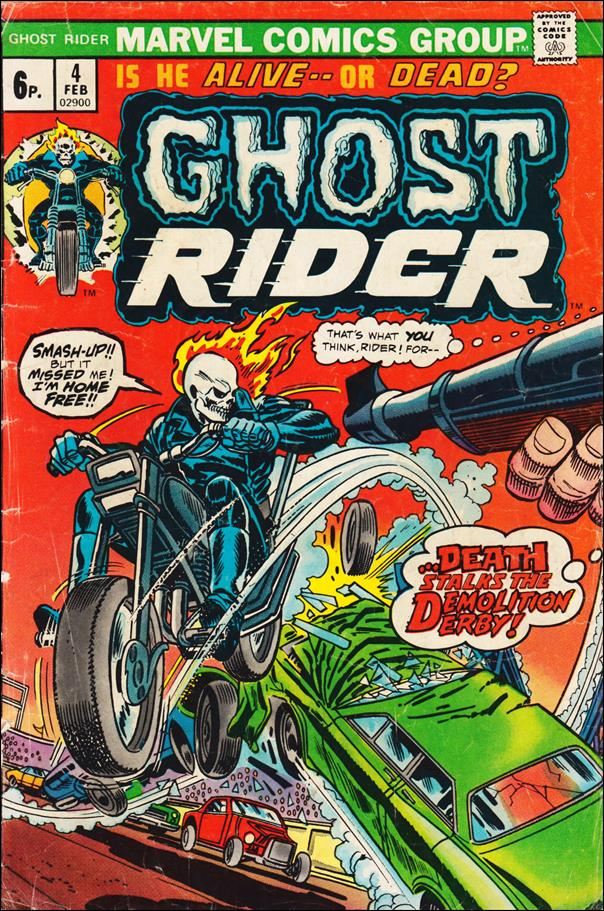 Ghost Rider (1973) 4-B by Marvel