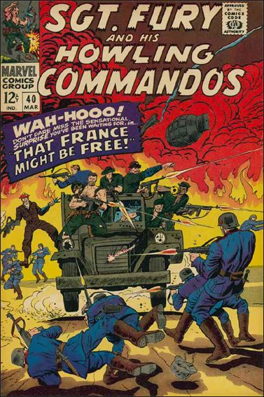 Sgt. Fury and His Howling Commandos 40-A by Marvel