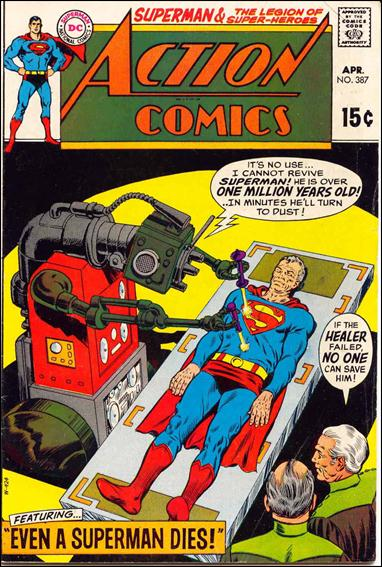 Action Comics (1938) 387-A by DC