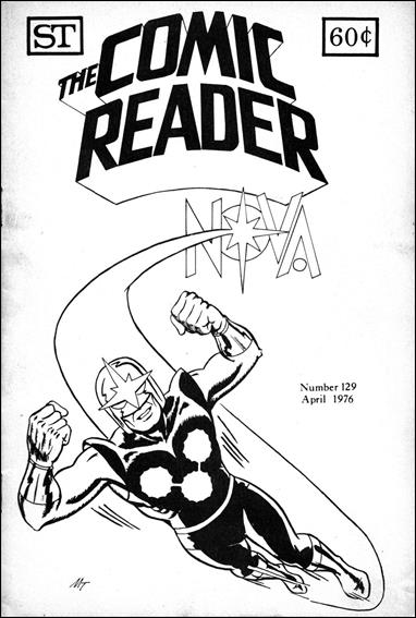 Comic Reader 129-A by Street Enterprises