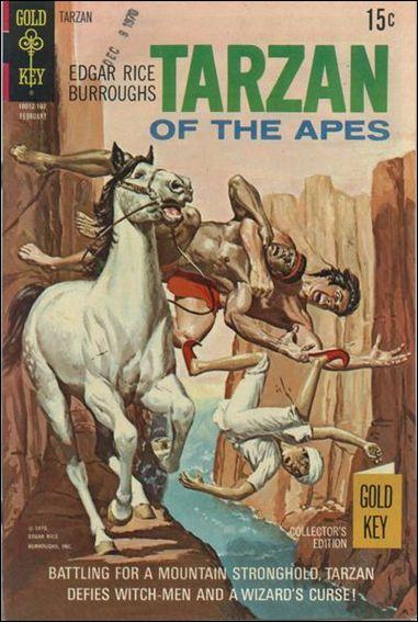 Tarzan (1962) 198-A by Gold Key