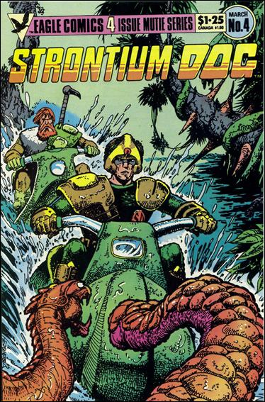 Strontium Dog (1985) 4-A by Eagle Comics