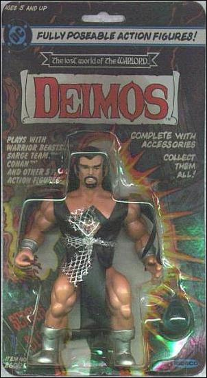 Lost World of the Warlord Deimos by Remco