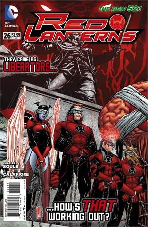 Red Lanterns 26-A by DC
