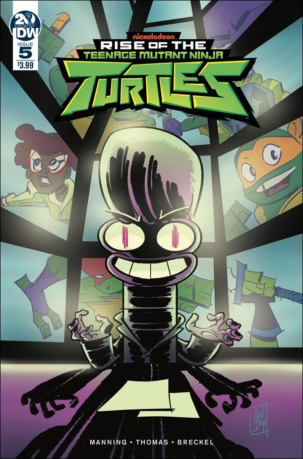 Rise of the Teenage Mutant Ninja Turtles 5-A by IDW
