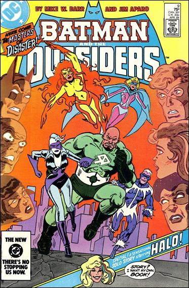Batman and the Outsiders (1983) 9-A by DC