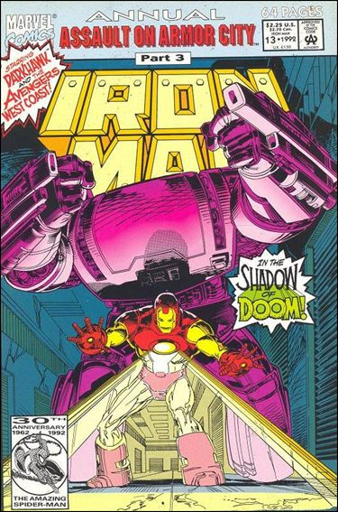 Iron Man Annual (1970) 13-A by Marvel
