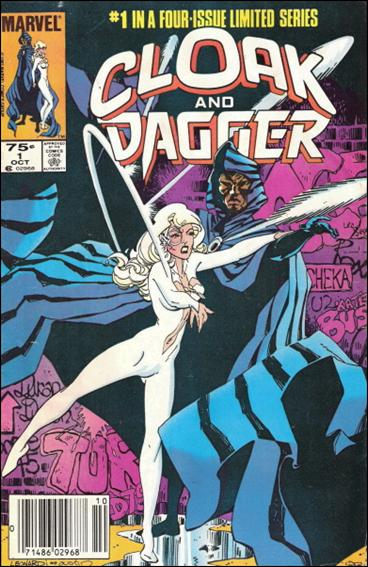 Cloak and Dagger (1983) 1-B by Marvel