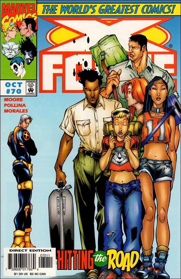 X-Force (1991) 70-A by Marvel